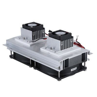 Us Plug Dual -core Semiconductor Thermoelectric Peltier Refrigeration System