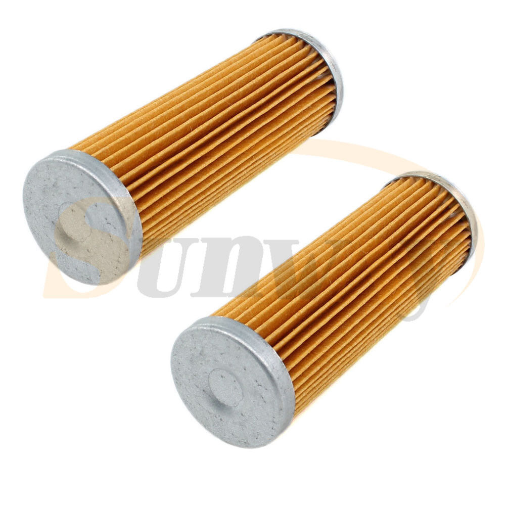 2 Fuel Filter Fit Kubota G4200 G5200 G6200 15231 43560 Location One Item Description New High Quality Aftermarket Replacement