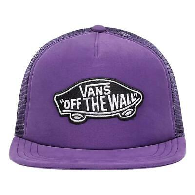 Vans NEW Men's Classic Patch Trucker Cap - Heliotrope BNWT