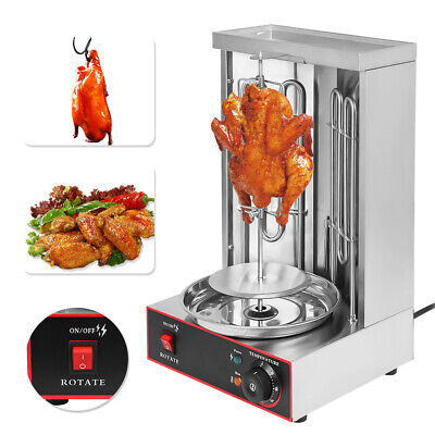 Kebab Gyro Grill Machine Electric Vertical Broiler Shawarma Machine Spinning, used for sale  Shipping to Nigeria