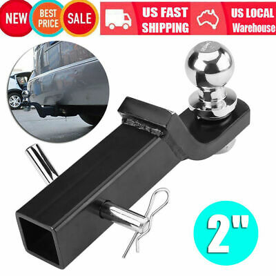 2 Inch Class III Loaded Ball Mount Hitch Receiver Trailer for PICKUP TRUCK SUV