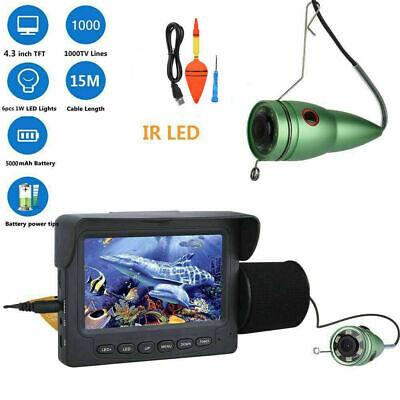 50M 600TVL Underwater Fishing Video Camera SONY CCD 24PCS LEDS Fishing Finder