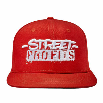 """Official WWE Authentic Street Profits """"We Want The Smoke"""" Snapback Hat Red One"""