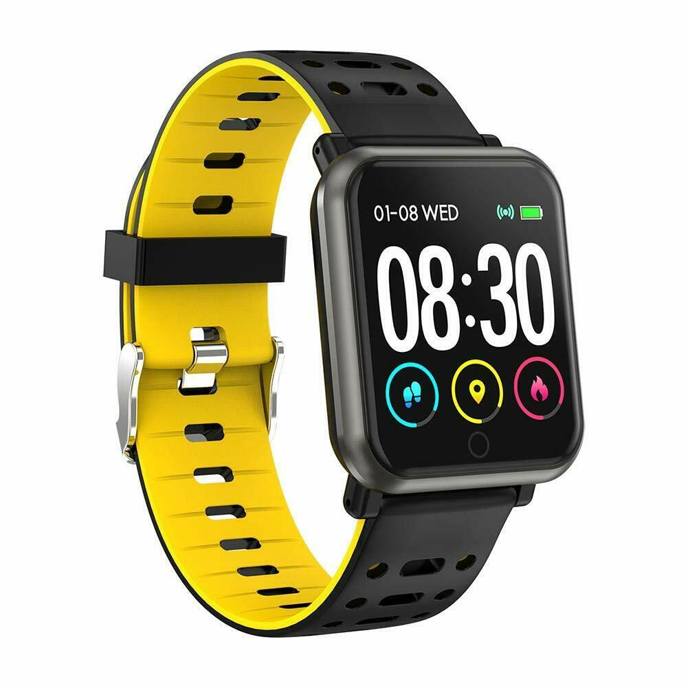 Waterproof Sport Smart Watch Blood Pressure Heart Rate Monitor iPhone Android LG