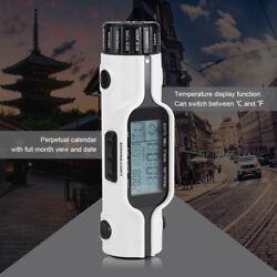 Practical Flashlight LED Digital World Time Travel Alarm Clock Thermometer
