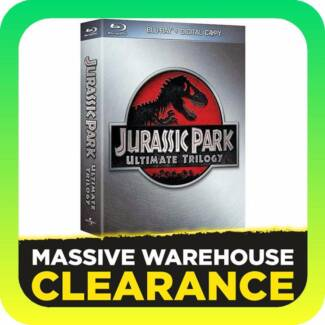 Jurassic Park Ultimate Trilogy (Blu-ray)
