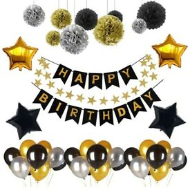 Birthday Decoration Set (Brand New)