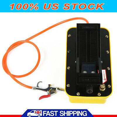 Air Hydraulic Foot Pump Pedal 10000 Psi Hose Coupler Auto Shop Press Fram Usa