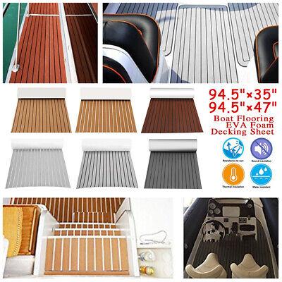 95x47 95x35 Adhesive EVA Teak Decking Foam Marine Boat Yacht Flooring Mat