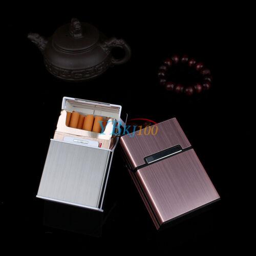 Portasigarette in Alluminio Waterproof Cigarette Box Per Sigarette Tabacco