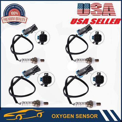 4 PCS Front /& Rear O2 02 Oxygen Sensor For 1996-1998 Chevrolet HRV GMC C//K 1500