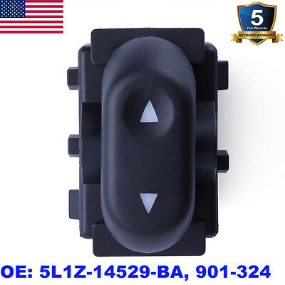 Single Button Power Window Switch for Ford F150 Lincoln Mercury Pickup Truck
