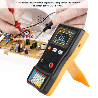 Mesr-100 Auto Ranging In Circuit Tester Esr Resistance Capacitance Meter Tool Mf
