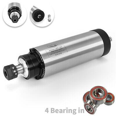 Cnc Air-cooled Spindle Motor Engraving Grinding Mill Grind 4 Bearing 2.2kw Er20