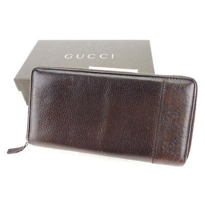 Auth GUCCI purse Wallet GUCCI semi men