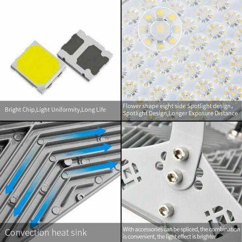 300W 200W 100W LED Flood Light Outdoor Module Spotlight Garden Yard Lamp US 5