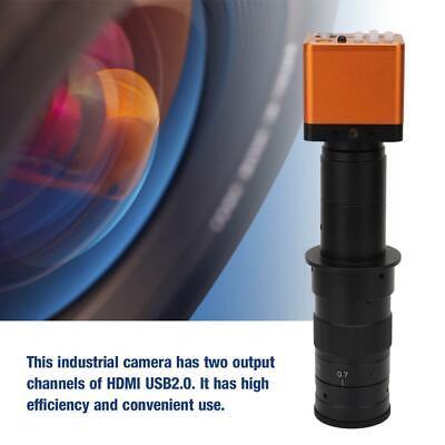 34mp High Resolution Hdmi Usb Digital Industrial Microscope Camera W 180x Lens
