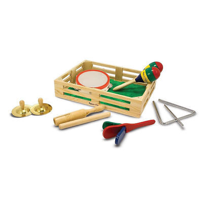 NEW Melissa and Doug Band in a Box 10 pc musical and rhythm instruments set 3+ (Melissa And Doug Musical Instruments)