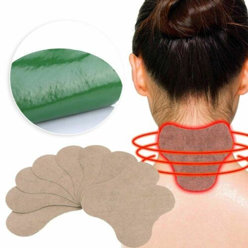 10pcs Moxibustion Patch Shoulder Neck Waist Legs Body Pain Relieve Plaster Health & Beauty