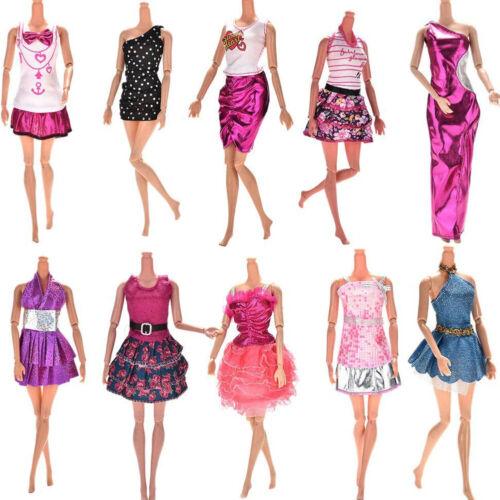 Finden, vergleichen, kaufen - 10 Pcs Dresses for Barbie Doll Fashion Party Girl Dresses Clothes Gown Toy Gift. auf eBay.co.uk ab 2.95 GBP