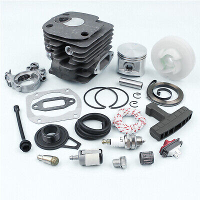 23x 50mm Cylinder Piston Kit Fit for Husqvarna 362 365 371 Chainsaw Old Type
