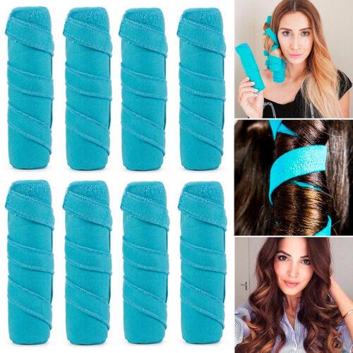 """NEW Sleep Hair Styling Styler 6"""" Salon Roller Curler Kit Set"""