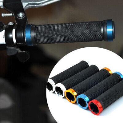 Locking Bar (1 Pair Double Lock On Locking Mountain BMX Bike Bicycle Handle Bar Grips Utility)