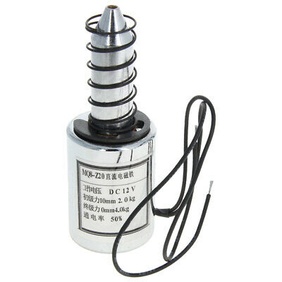 12v Electric Lifting Magnet Electromagnet Solenoid Lift Holding Push Type 1pc