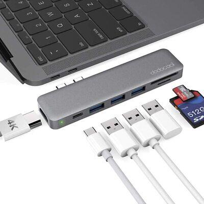 dodocool USB C Hub Adapter for MacBook Pro 2019/2018/2017/2016, MacBook Air 2019