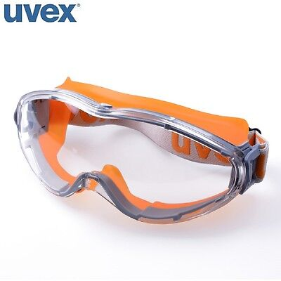 UVEX ULTRASONIC 9302-245 CLEAR SAFETY GOGGLES - ANTI-FOG & ANTI-SCRATCH