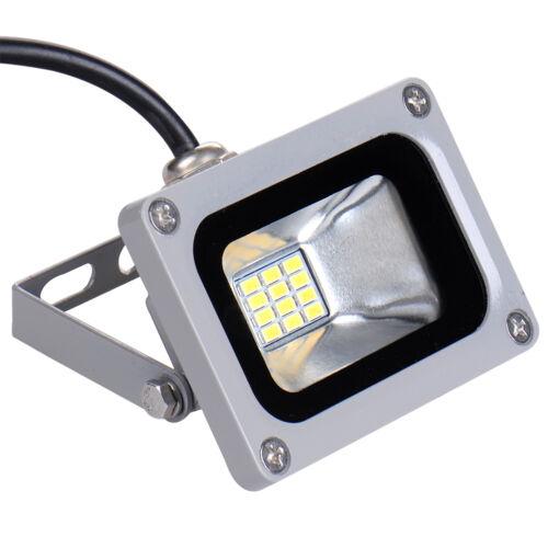 10W 12V Cool White Security LED Flood Light Lamp Garden Lamp Outdoor IP65
