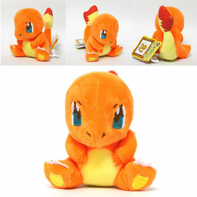 Pokemon Center Charmander Plush Doll Figure Stuffed Animal Toy 5 inch US Ship
