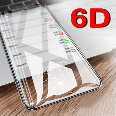 Screen Protector For iPhone XS MAX XR 8 X 6D Curved Full Coverage Tempered Glass Iphone Screen Protector