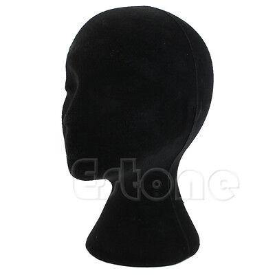 Female Foam Styrofoam Mannequin Manikin Head Model Dummy Wig Glass Display Stand