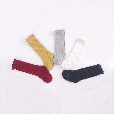 5 Pairs Baby Girl Boy Toddler Knee High Cotton Summer Socks 0-1 1-3 Years](Toddler Boy Knee High Socks)