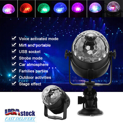 LED Ball Stage Light Lighting 5W DJ Disco Bar Party Club KTV Projector + Remote