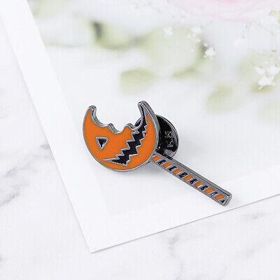Cool Bitten Pumpkin Women Brooch Pin Jeans Hat Jewelry Halloween Party Gift  ](Halloween Pumpkins Cool)