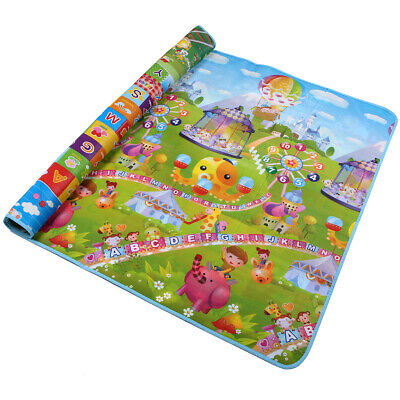 Baby Crawling Baby Gyms & Play Mats Reversible Foam Kids Activity Mat Baby Care