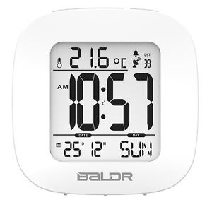 3 radio control msf mini snooze alarm clock digital calendar travel backlight. Black Bedroom Furniture Sets. Home Design Ideas
