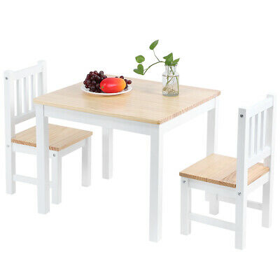2 Seater Dining Table And Chairs Breakfast Kitchen Room Small Furniture Set 6