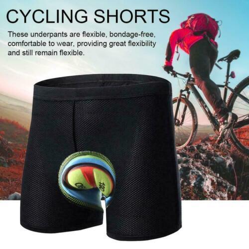 Herren Radfahren Unterwäsche gepolstert kurze Hose Fahrrad elastico Bike Shorts