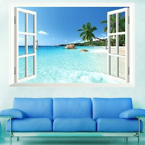 ocean wall decals ebay