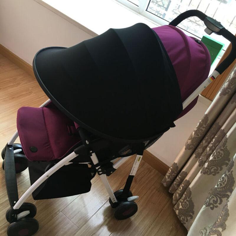 Baby Pushchair Stroller Pram Windproof Sun-Shield Visor Sunshade Canopy Cover