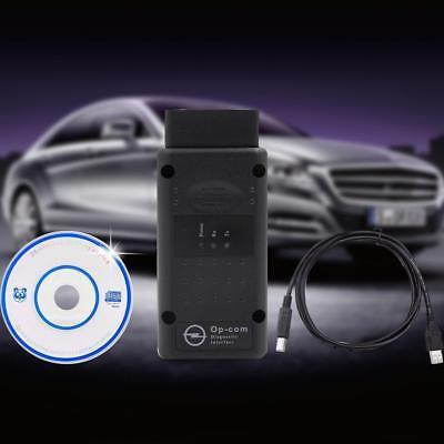 v1.95 OPEL OP COM Interfaz de Diagnóstico Código Lector Scan Tool OBD2 USB CD