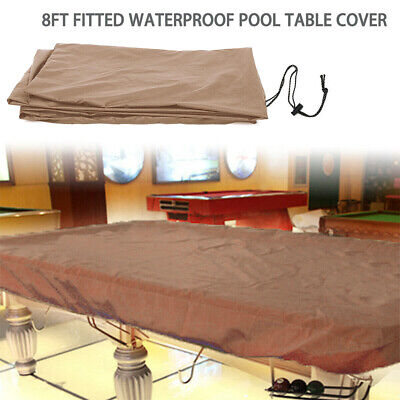 8Ft Waterproof Snooker Billiard Table Pool Cover Polyester Dust Protector