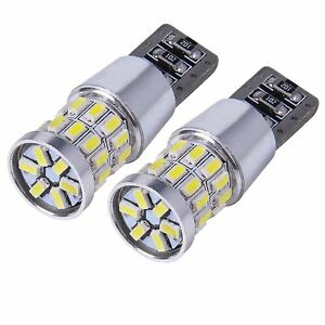 2x 30SMD LED Standlicht XENON weiß w5w T10 Glassockel CheckControl Can-Bus siche