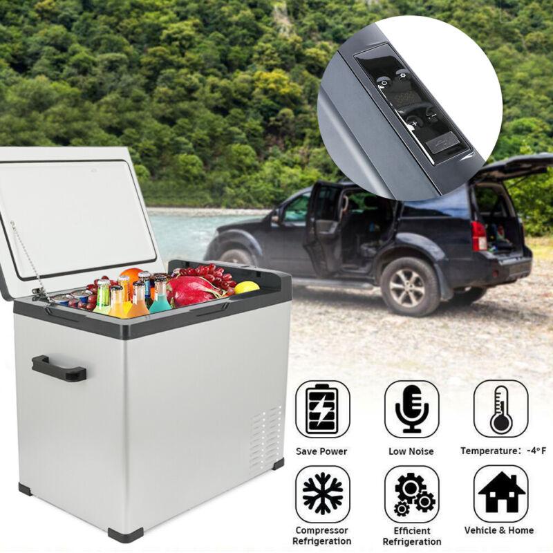 54 Quarts Portable Refrigerator Electric Car Cooler Compressor Freezer Camping