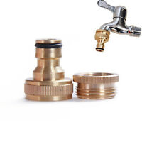 Portable Garden Faucet Water Hose Tap Brass Connector 3/4, To 1/2, Inch - unbranded - ebay.co.uk