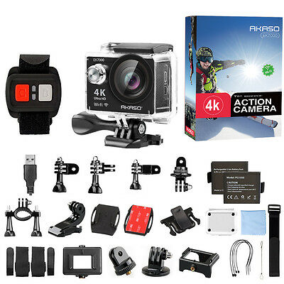 Manufacturer Refurbished AKASO EK7000 4K WIFI Sports Action Camera DV 12MP