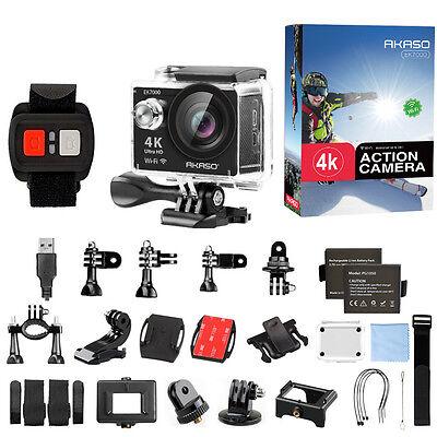 Manufacturer Refurbished AKASO EK7000 4K WIFI Sports Action Camera DV 12MP